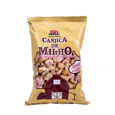 CANJICA DE MILHO COM AÇÚCAR ORGÂNICO 50GR